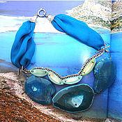 """Украшения ручной работы. Ярмарка Мастеров - ручная работа Колье """"Лето. Море-океан"""". Handmade."""