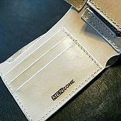Сумки и аксессуары handmade. Livemaster - original item Bifold wallet Wallet leather flip case. Handmade.