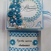 Упаковочная коробка ручной работы. Ярмарка Мастеров - ручная работа Подарочные коробки: свадебные, юбилейные. Handmade.
