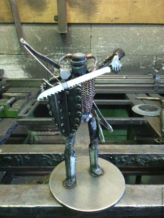 Миниатюрные модели ручной работы. Ярмарка Мастеров - ручная работа. Купить Статуэтка рыцарь. Handmade. Лимонный, рыцарь, статуэтка, модель