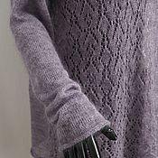 Одежда ручной работы. Ярмарка Мастеров - ручная работа Ажурная туника из кид-мохера. Handmade.