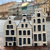 Винтаж ручной работы. Ярмарка Мастеров - ручная работа Коллекционные домики от  Delft - воплощение Нидерландов. Handmade.