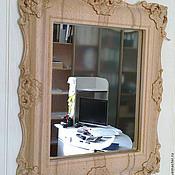 Для дома и интерьера ручной работы. Ярмарка Мастеров - ручная работа Зеркало в раме из дерева. Handmade.