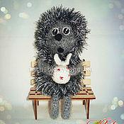 Куклы и игрушки ручной работы. Ярмарка Мастеров - ручная работа Ёжик в тумане.. Handmade.