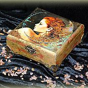 "Для дома и интерьера handmade. Livemaster - original item Шкатулка для украшений ""Дива"". Handmade."