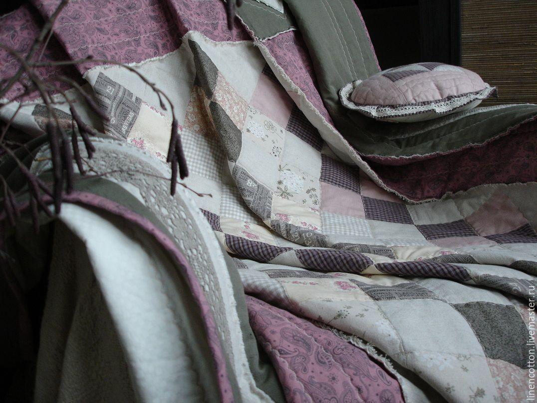 """""""Зимний сон"""" лоскутное покрывало, Текстиль ковры, Подольск, Фото №1"""