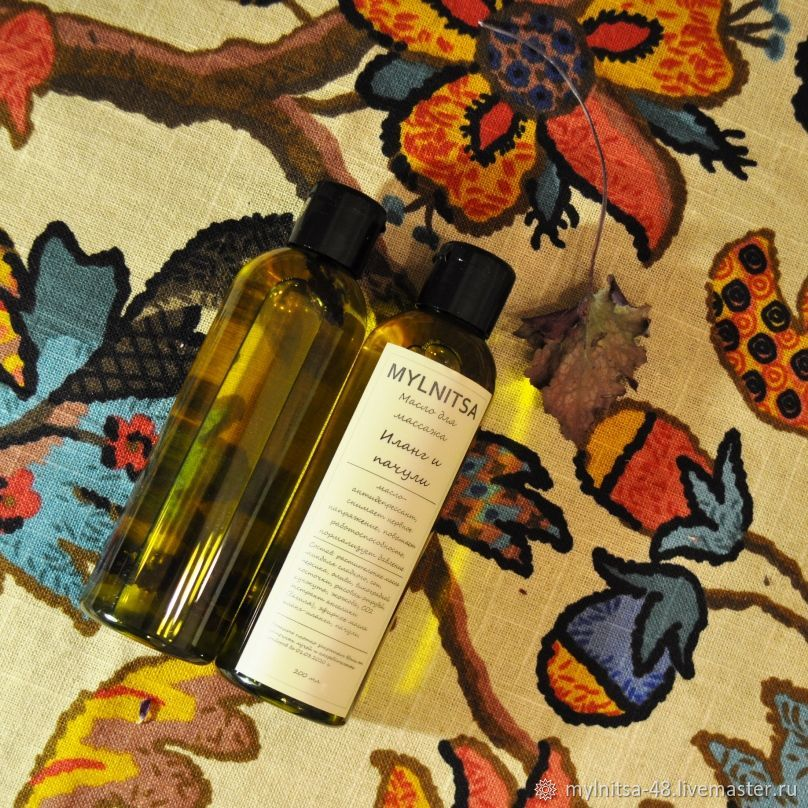 Oils & Blends handmade. Livemaster - handmade. Buy Ylang and patchouli, oil for anti-stress and erotic massage.