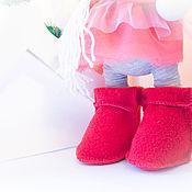 Куклы и игрушки ручной работы. Ярмарка Мастеров - ручная работа Овечка Зимняя. Handmade.