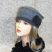 """Аксессуары ручной работы. Ярмарка Мастеров - ручная работа шляпка """"Леди"""". Handmade."""