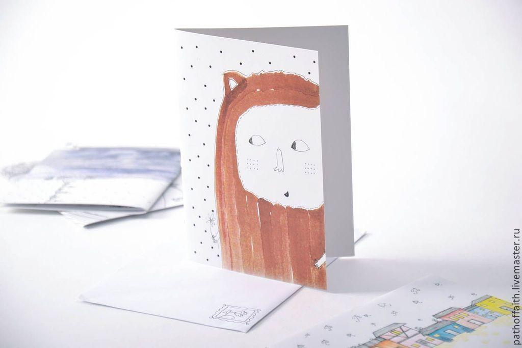 профессиональная авторские открытки семья третий численности