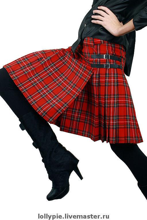 Kilt red plaid Plaid, Skirts, Moscow,  Фото №1