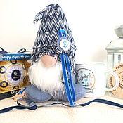 Сувениры и подарки handmade. Livemaster - original item A gift with a handmade gnome, a New Year`s gift to a friend. Handmade.