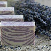 Мыло ручной работы. Ярмарка Мастеров - ручная работа Лаванда натуральное мыло. Handmade.