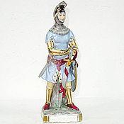 Винтаж handmade. Livemaster - original item Rare porcelain figurine. Handmade.