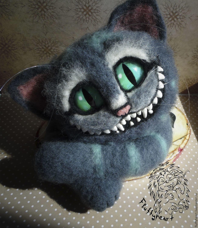 Голова чеширского кот