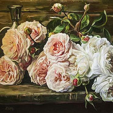 "Картины и панно ручной работы. Ярмарка Мастеров - ручная работа ""Царица - роза"". Handmade."