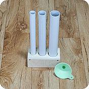 Материалы для творчества ручной работы. Ярмарка Мастеров - ручная работа Комплект трубок для мыла с нуля 3. Handmade.