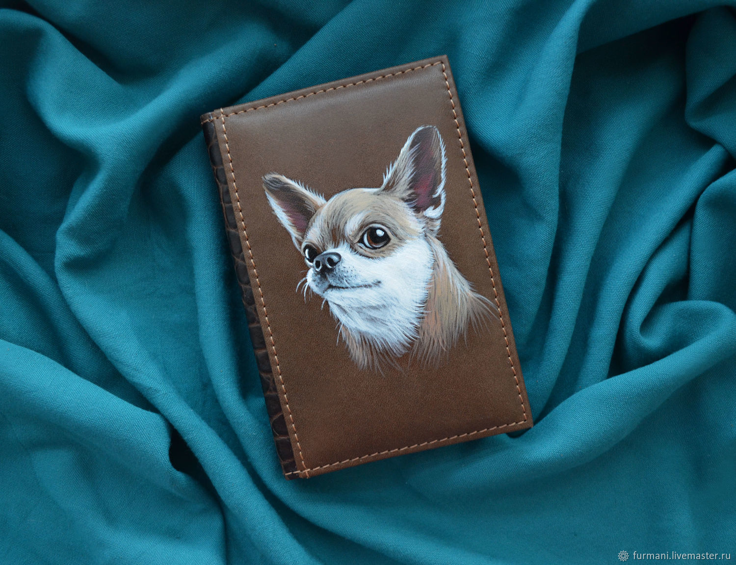 """Leather notebook """"CHIHUAHUA"""", Diaries, Krivoy Rog,  Фото №1"""