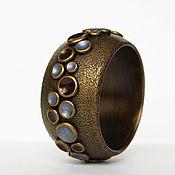 Украшения handmade. Livemaster - original item A wide bracelet made of polymer clay Pandora`s Box.. Handmade.