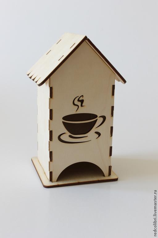 Декупаж и роспись ручной работы. Ярмарка Мастеров - ручная работа. Купить Чайный домик с чашкой - заготовки для декупажа. Handmade.