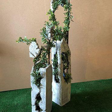 Цветы и флористика ручной работы. Ярмарка Мастеров - ручная работа Кашпо: Кашпо лофт. Handmade.