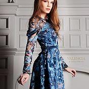 Одежда handmade. Livemaster - original item Stefania mini dress made of exclusive Italian embroidery. Handmade.
