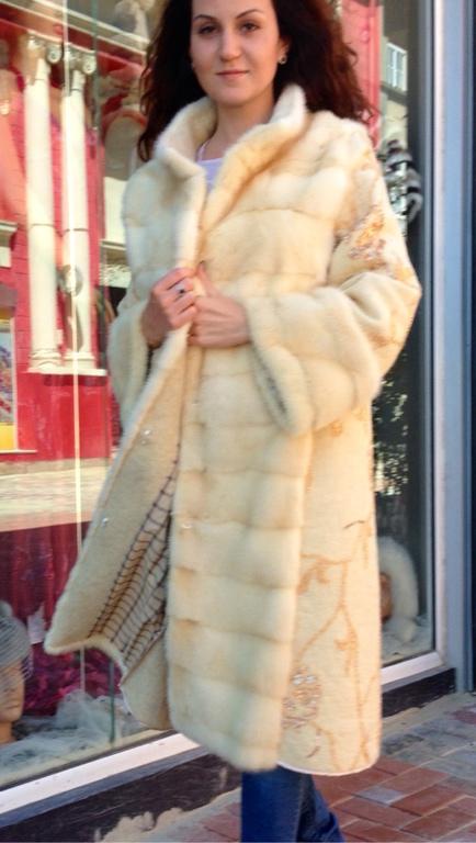 Верхняя одежда ручной работы. Ярмарка Мастеров - ручная работа. Купить Шубка Северное Сияние. Handmade. Пальто с мехом, нунофелтинг
