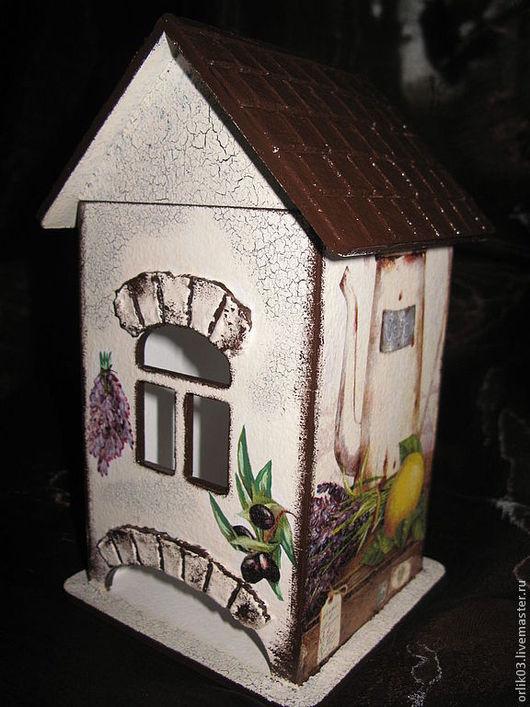 """Кухня ручной работы. Ярмарка Мастеров - ручная работа. Купить Чайный домик """"Ароматы прованса"""". Handmade. Бежевый, чай, подарок"""