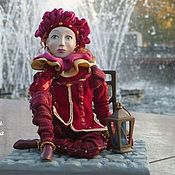 Куклы и игрушки ручной работы. Ярмарка Мастеров - ручная работа Венеция. Утро после карнавала. Handmade.
