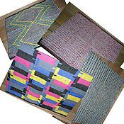 Для дома и интерьера ручной работы. Ярмарка Мастеров - ручная работа коврики -сидушки для бани. Handmade.