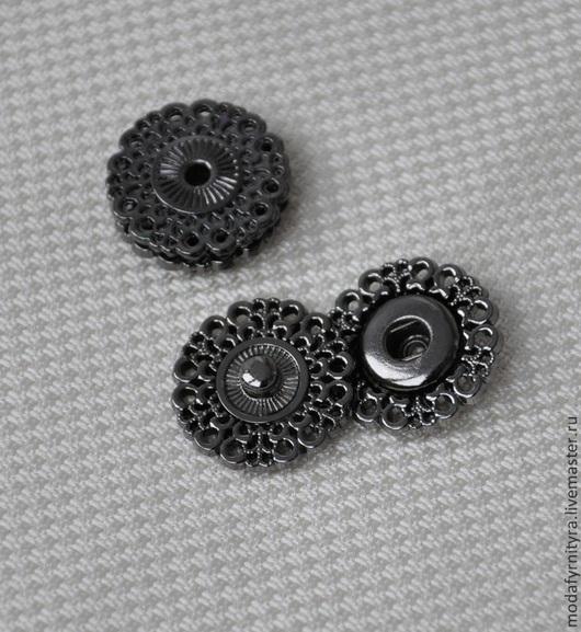 Шитье ручной работы. Ярмарка Мастеров - ручная работа. Купить Кнопка пришивная. Handmade. Материалы для творчества, материалы для шитья