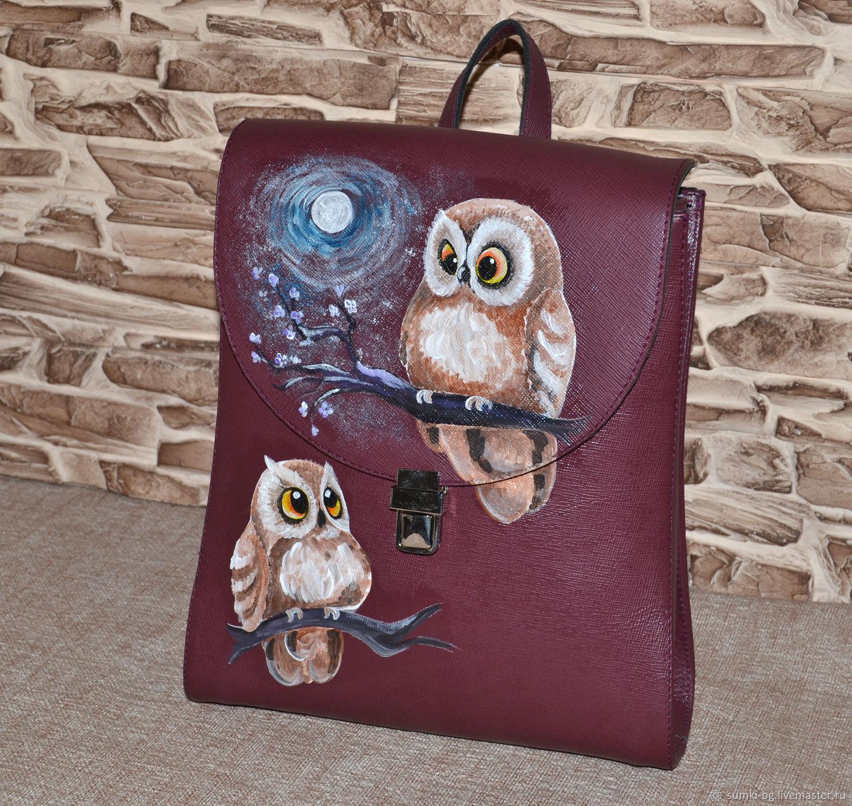 Model 109 genuine leather Backpack, Backpacks, Bogorodsk,  Фото №1