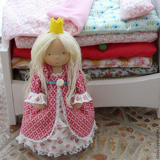 Вальдорфская игрушка ручной работы. Ярмарка Мастеров - ручная работа. Купить Принцесса на горошине. Handmade. Розовый, шерсть