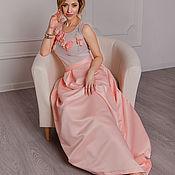 """Одежда ручной работы. Ярмарка Мастеров - ручная работа Вечерний наряд """"Аромат роз"""". Handmade."""