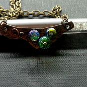 Украшения handmade. Livemaster - original item Pendant Charm lampwork. Handmade.