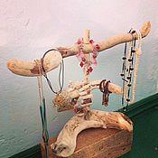 Для дома и интерьера handmade. Livemaster - original item Stand decorations Driftwood Jewels. Handmade.