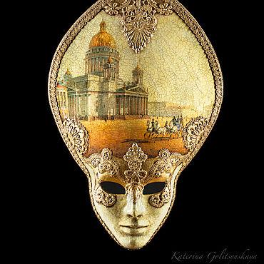 """Для дома и интерьера ручной работы. Ярмарка Мастеров - ручная работа Интерьерная маска """"Северная Венеция"""". Handmade."""
