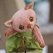 Куклы и игрушки ручной работы. Ярмарка Мастеров - ручная работа Кошечка Муся (Друзья Тедди). Handmade.