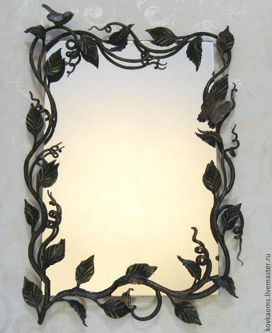 Зеркала ручной работы. Ярмарка Мастеров - ручная работа. Купить Обрамление для зеркала Вьюн. Handmade. Зеркало, подарок, кованая рамка