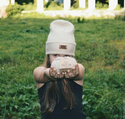 Шапки ручной работы. Ярмарка Мастеров - ручная работа. Купить Стильная теплая  шапочка .. Handmade. Бежевая шапка, стильная шапочка