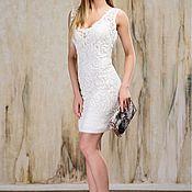 Кружевное Коктейльное платье.Платье на вечер.Платье на роспись
