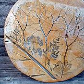 Cutting Boards handmade. Livemaster - original item Board serving ceramic. Handmade.