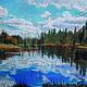 """Картина пастелью """"Весна в Абрамцево"""", Картины, Москва,  Фото №1"""