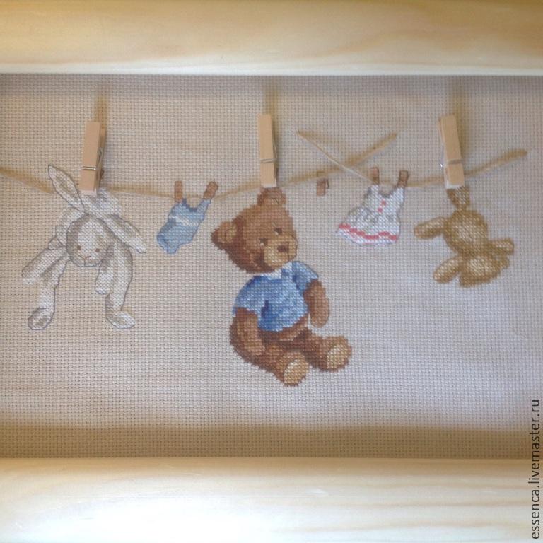 Детская метрика вышивка крестом фото
