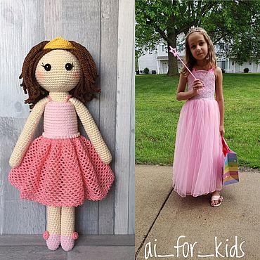 Куклы и игрушки ручной работы. Ярмарка Мастеров - ручная работа Портретная куколка. Handmade.