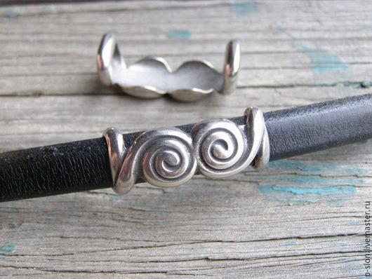 Для украшений ручной работы. Ярмарка Мастеров - ручная работа. Купить Бусина этно с узором для regaliz (регализ) рег06. Handmade.