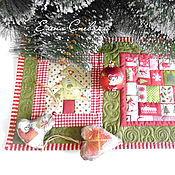 Подарки к праздникам ручной работы. Ярмарка Мастеров - ручная работа Ланчмат Новогодний. Handmade.