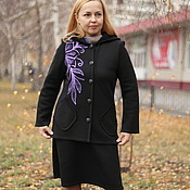 "Одежда handmade. Livemaster - original item Warm jacket ""Contemporary"". Handmade."