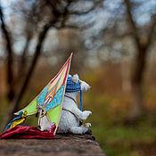 Куклы и игрушки ручной работы. Ярмарка Мастеров - ручная работа мышь... летучая. Handmade.