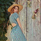 """Одежда ручной работы. Ярмарка Мастеров - ручная работа Платье """" The garden flowers"""".. Handmade."""